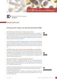 Februar 2012 - Häufig gestellte Fragen zum Sprechstundenbedarf
