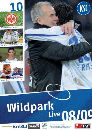 0809_st 21 eintracht frankfurt.pdf - Karlsruher SC