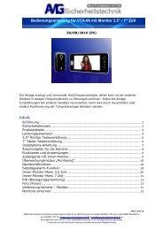 VTA-06 Video-Türsprechanlage