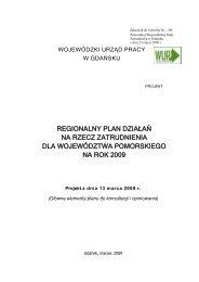 Załącznik do Uchwały nr4/2009 - Wojewódzki Urząd Pracy w Gdańsku