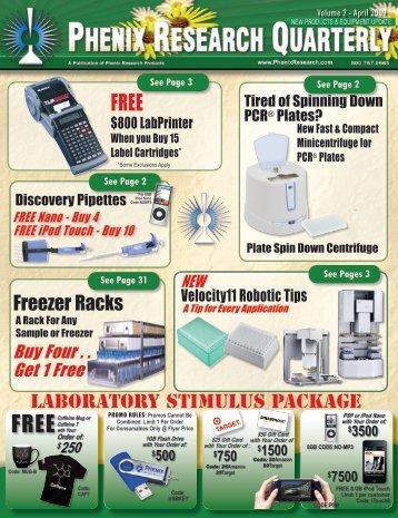 Freezer Racks - Phenix Research Products