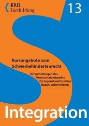Kursangebote zum Schwerbehindertenrecht - Kommunalverband für ...