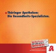 Thüringer Apotheken - Landesapothekerkammer Thüringen