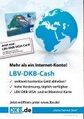 Karte Jetzt eröffnen unter www.lbv.de! Jetzt neu: LBV-DKB-VISA-Card - Seite 2
