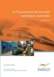 Le Financement des activités statistiques nationales