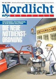 Nordlicht_0906.qxp - Kassenärztliche Vereinigung Schleswig-Holstein