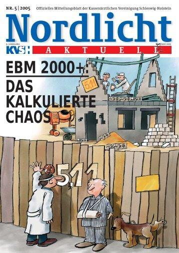 Nordlicht_05_2005.qxd - Kassenärztliche Vereinigung Schleswig ...