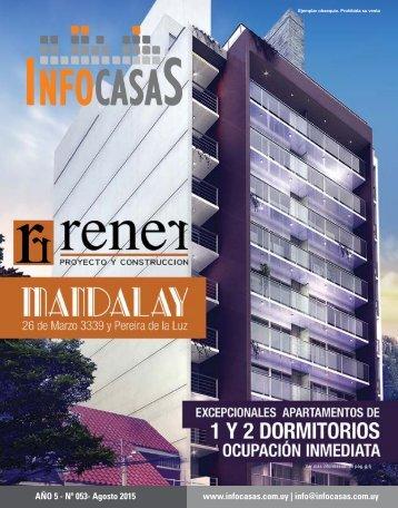 Revista InfoCasas - Número 53 - Agosto 2015