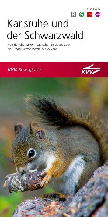 Karlsruhe und der Schwarzwald - KVV - Karlsruher Verkehrsverbund