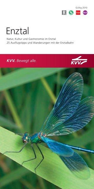 Broschüre Enztal - KVV - Karlsruher Verkehrsverbund