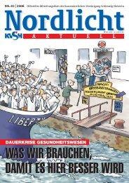 Nordlicht_02_2006.qxd - Kassenärztliche Vereinigung Schleswig ...