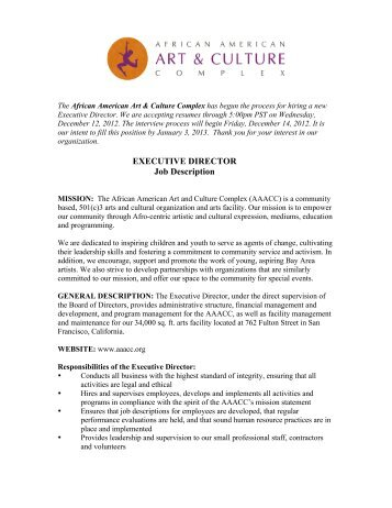Outfront Minnesota Executive Director Job Description Outfront