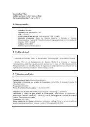 Curriculum completo (pdf) - Proyecto Medina Elvira