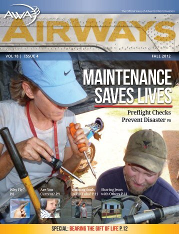 maintenance saves lives