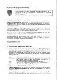 Protokoll - Stadt Leun