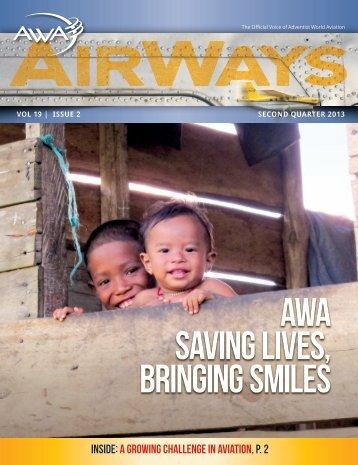 AWA SAVING LIVES BRINGING SMILES