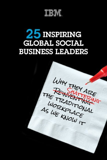 25 Inspiring Global Social Business Leaders