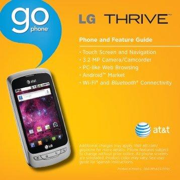 Setting Up Your Phone - LG Electronics