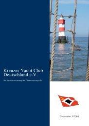 KYCD Fahrtenwettbewerb 2008 - Kreuzer Yacht Club Deutschland ...