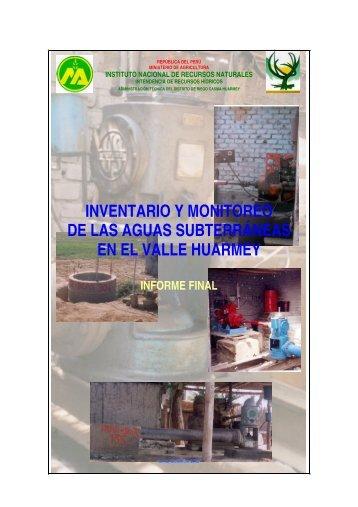 EN EL VALLE HUARMEY