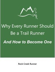 Why Every Runner Should Be a Trail Runner
