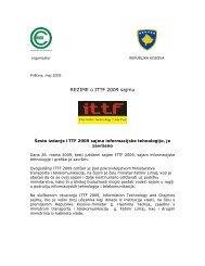 REZIME o ITTF 2009 sajmu