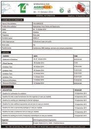 Download reservation form - kosovafair.com
