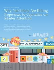 Why Publishers Are Killing Pageviews to Capitalize on Reader Attention