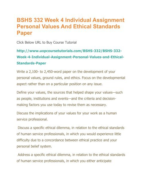 Values And Ethics In Professional Pdf