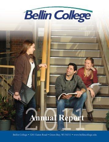 2011 Annual Report - Bellin College