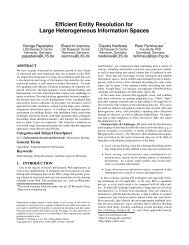 Efficient Entity Resolution for Large Heterogeneous Information ...