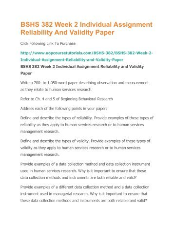 how to write reliability and validity in research proposal