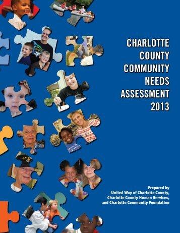 Charlotte County Community Needs Assessment 2013