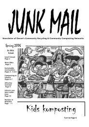 Download March 2006 3 - Devon Community Composting Network