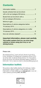 Large Vehicles you can drive using your car or lorry licence - Page 2