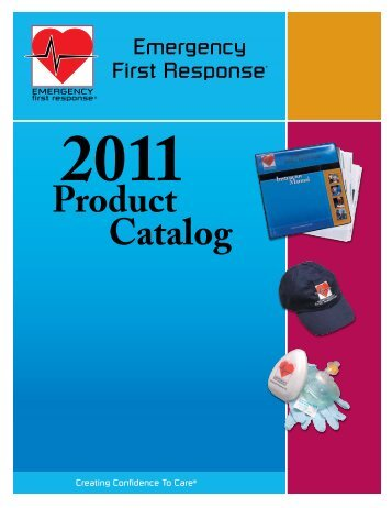 Product Catalog - Emergency First Response