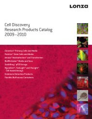 Cell Discovery Research Products Catalog 2009–2010