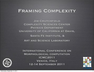 Framing Complexity