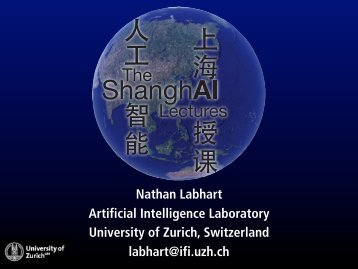 Nathan Labhart Artificial Intelligence Laboratory University of Zurich ...
