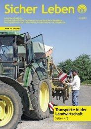 Sicher Leben 3/2005 - Die Landwirtschaftliche Sozialversicherung