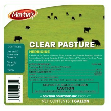 CLEAR PASTURE