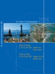 2006 - Lindauer Psychotherapiewochen