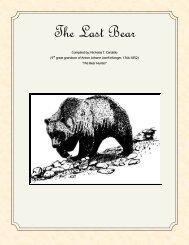 The Last Bear.pdf - Cardello Family History