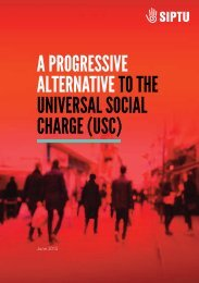 A Progressive AlternAtive to the universAl sociAl chArge (usc)