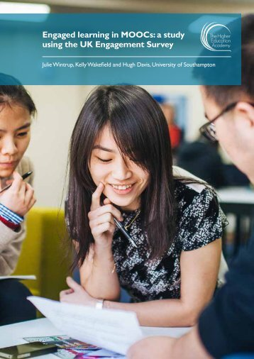 Engaged learning in MOOCs a study using the UK Engagement Survey