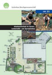 Arbeitssicherheit im Garten-, Landschafts- und Sportplatzbau