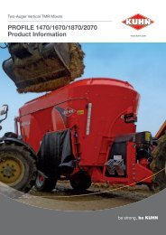 Profile 70 Series (two-auger) - Product Info - Kuhn.com