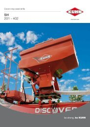 SH 201 - 401 - KUHN farm machinery
