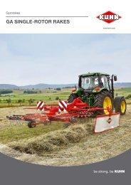 KUHN Gyrorakes - Cork Farm Machinery