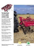 The Kuhn-Huard 3 to 6 m stubble cultivator range - Page 2